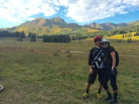 Alex and Gina Crested Butte
